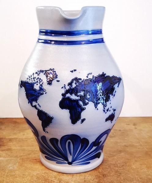 Bembel Weltkarte worldmap cider mug viez globe