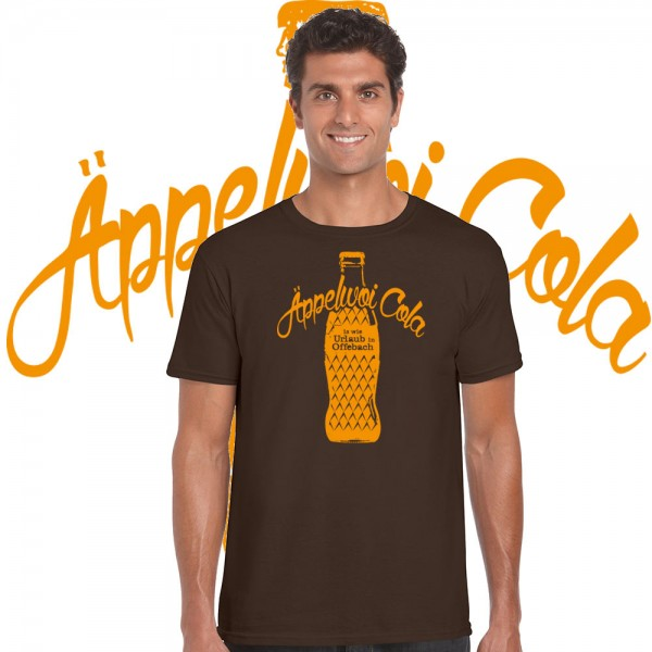 Äppelwoi Cola - Herren T-Shirt