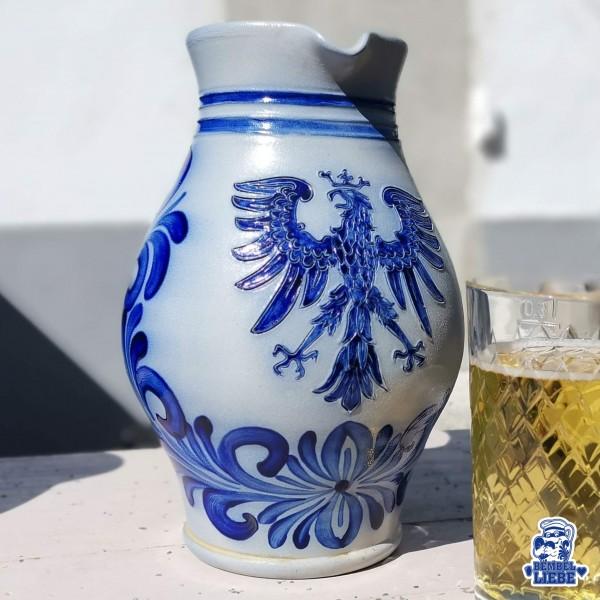Original Frankfurter Adler Bembel geritzt Motiv Bembelshop
