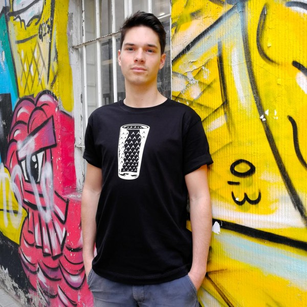 Gerippte - Herren T-Shirt