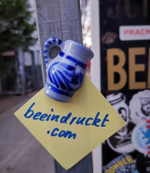 Bembel Keramik Magnet Bembelmagnet Frankfurt Hessen Souvenir