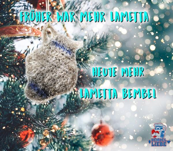Lametta Bembel Weihnachtsschmuck